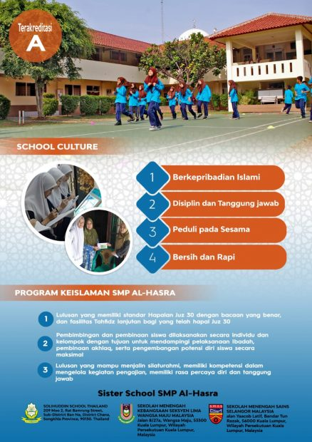 SCHOOL CULTURE (KEISLAMAN)